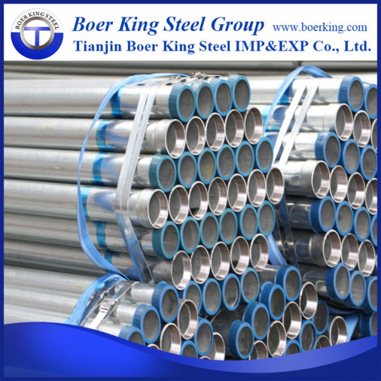 High Quantity BS1387 Standard Galvanized Steel Pipes