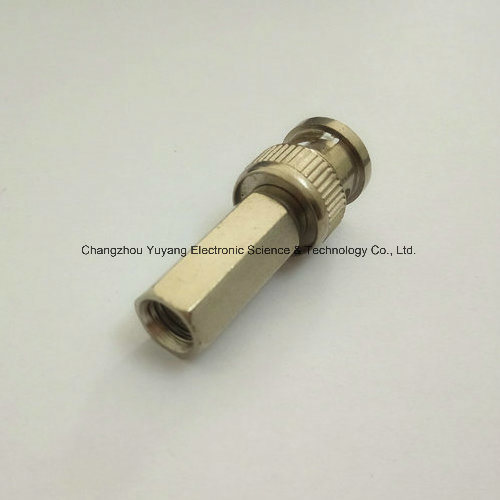 Male Twist on Bulkhead BNC Metal of Coaxial Connector pictures & photos