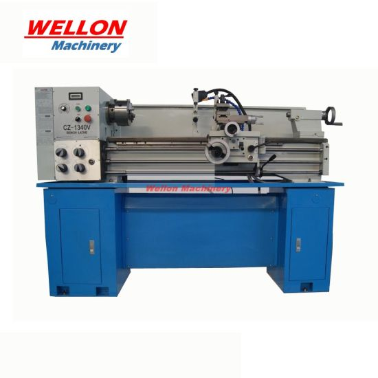 Metal Lathe Machine (CZ1237V with Variable spindle speed)