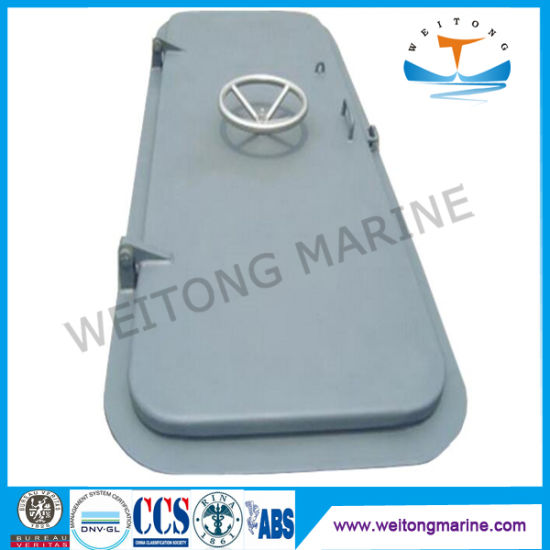 Custom CCS ABS Fire Rated Quick Action Marine Steel Hinged Weathertight Door for Ships