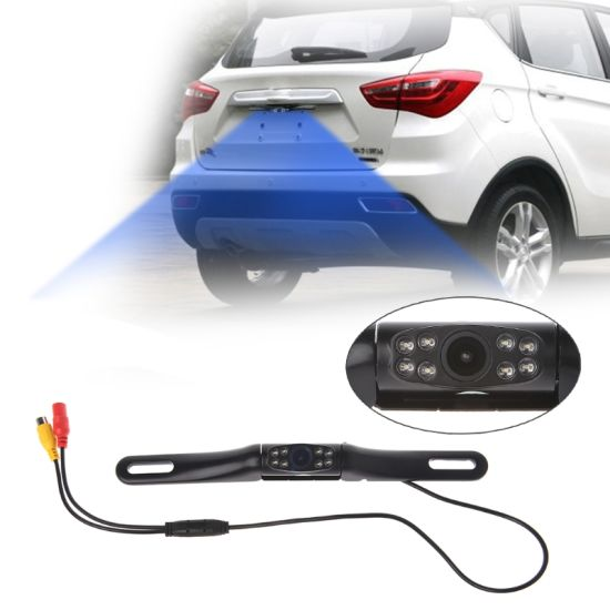 Waterproof Car Rear View CCD 180° Night Vision Reverse Backup Parking Camera HOT