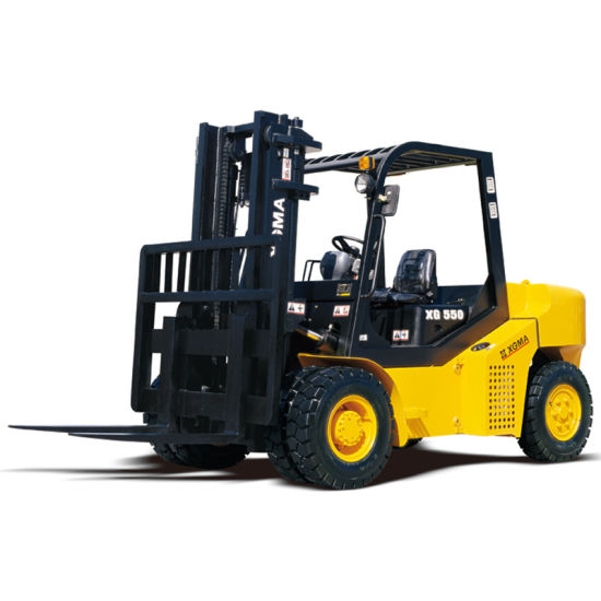 Battery Electric Stacker Forklift Pictures
