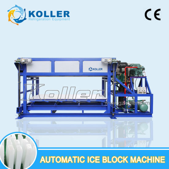 Edible Used Directly Evaporated Ice Block Machine 5tons/Day pictures & photos
