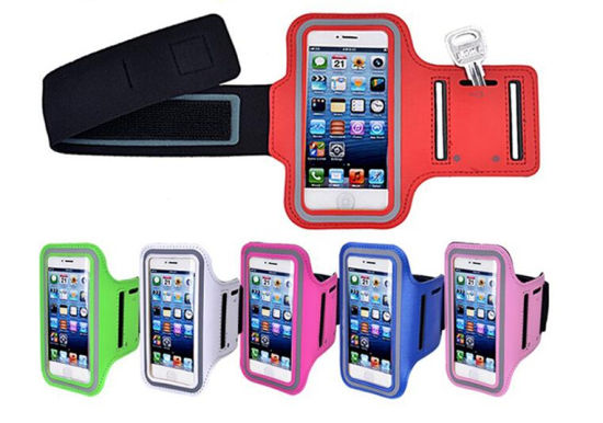 High Quality Neoprene PVC Armband Sport Cellphone Armband, Phone Cover, Runnig Armband for iPhone 6 7 for Samsung pictures & photos