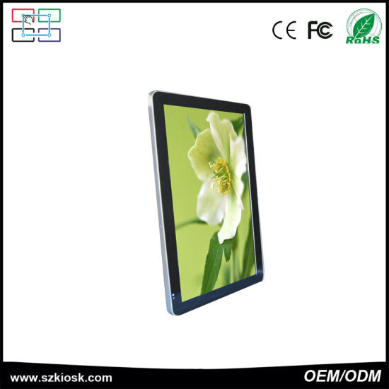 Factory Price LED Panel Touch Screen Portable Digital Signage pictures & photos