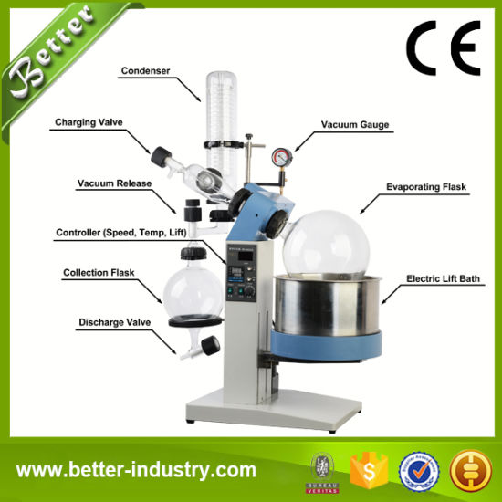 Rotary Evaporator Instrument with Digital Display for Lab Chemical Testing pictures & photos