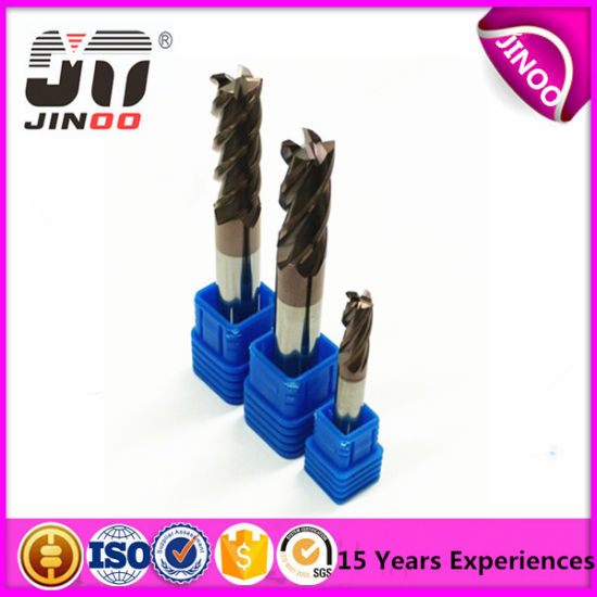 4 Flute Square End Mill Tungsten Carbide Cutting Tools pictures & photos