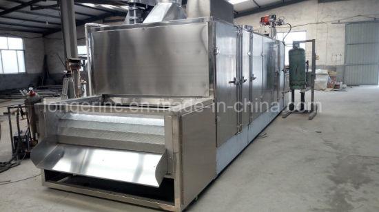 China Full Automatic Gas Electric Conveyor Belt Nut Roasting
