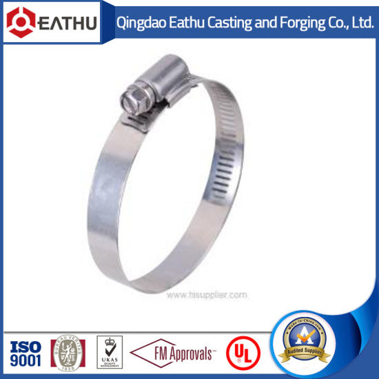 China Galvanized Steel Stainless Steel Germany Type Hose Clamps