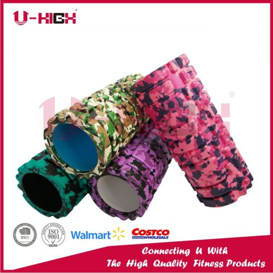 High Density Hot Stamping Camo Foam Roller Massager Roller 2017 Ufh-300 pictures & photos