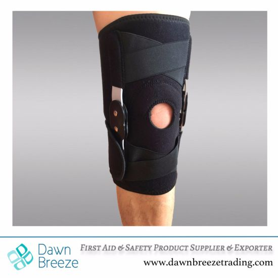 3bd63d275e China Hinged Knee Support with Elastic Cross Straps - China Hinged ...