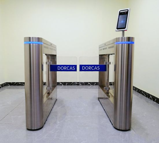 Biometric Speed Gate Turnstile Automatic Barrier Security Gate