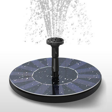 Mini Solar Powered Water Fountain Pump for Home Garden Decoration and Water Fountain.