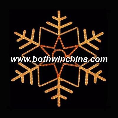 Outdoor Decorative LED Christmas Snowflake Light