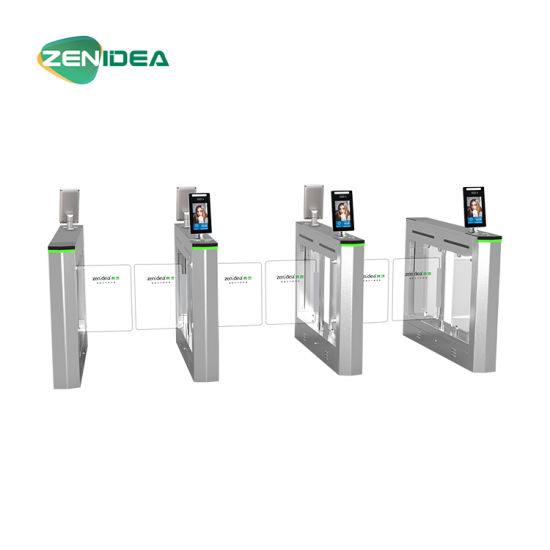 Automatic Security Swing Turnstile Barrier Gate with Access Control for Pedestrian