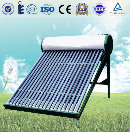 Nonpressure Evacuated Tube Solar Water Heater