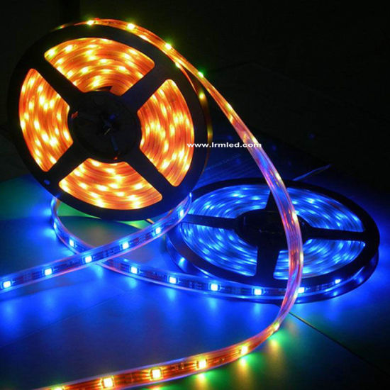 IP68 Epoxy Cover Silicon Tube Waterproof Flexible 3528 SMD Light Strip pictures & photos