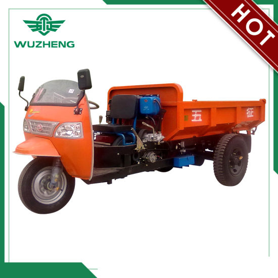 3 Wheel Dump Truck for Mining and Construction Sites (WK3B1122101) pictures & photos