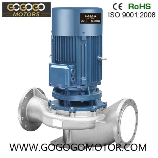 [Pglh]Stainless Steel Vertical Inline Centrifugal Pump Centrifugal Motor Pump