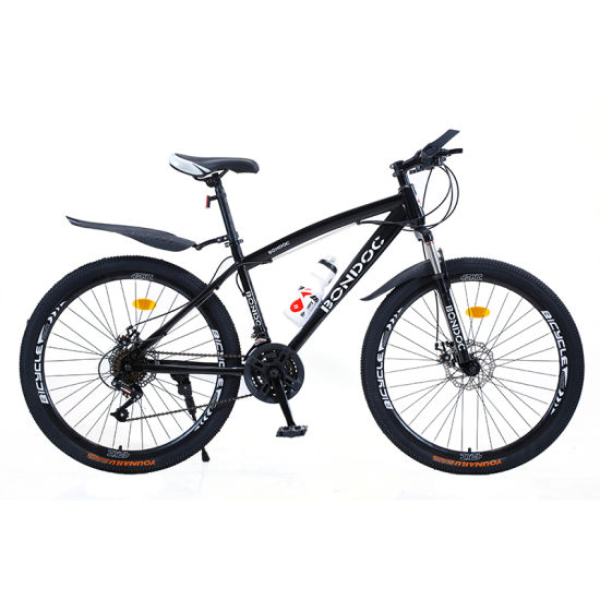 Mountain Bike Aluminium Carbon Steel China Cycling 24 26 Inch Bicycle Street OEM Double Disc Brake Mountain Bike