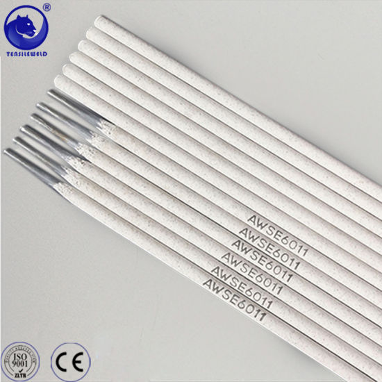China Qualitied Welding Electrode E6011 3.2mm with Ce Certificate
