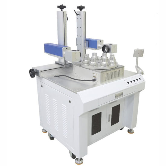 Multi-Station Lamps Laser Marking Cabinet with High Precision