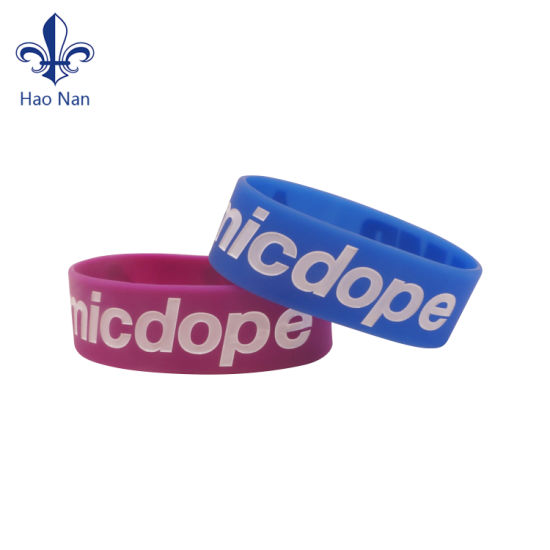 Free Sample Energy Silicone Rubber Band
