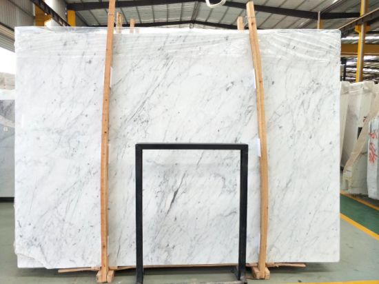 Natural Stone Bianco Carrara White Black Yellow Beige Red Green Brown Blue Pink Grey Polished Marble Slabs Tiles Vanity tops Mosaic pictures & photos