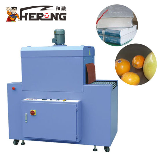 Hero Brand Packing Price Hardware Wire Custom Rewinding Line Yiwu Stationery L Sealer and Shrink Pack Machine pictures & photos