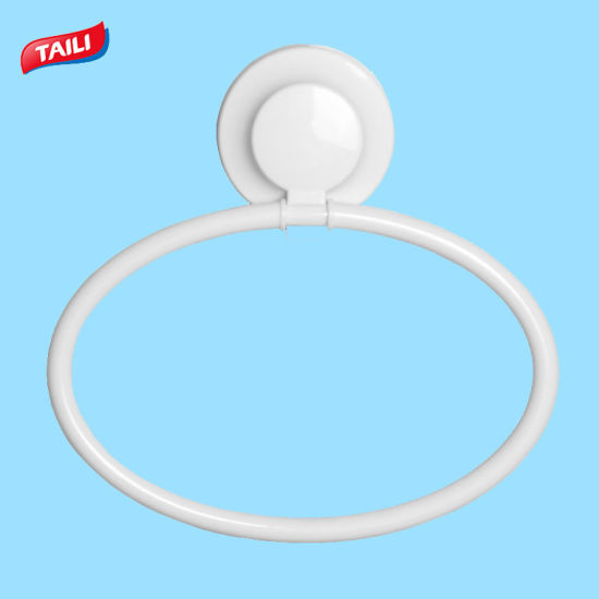 China White Modern Holder Towel Ring For Small Bathroom China