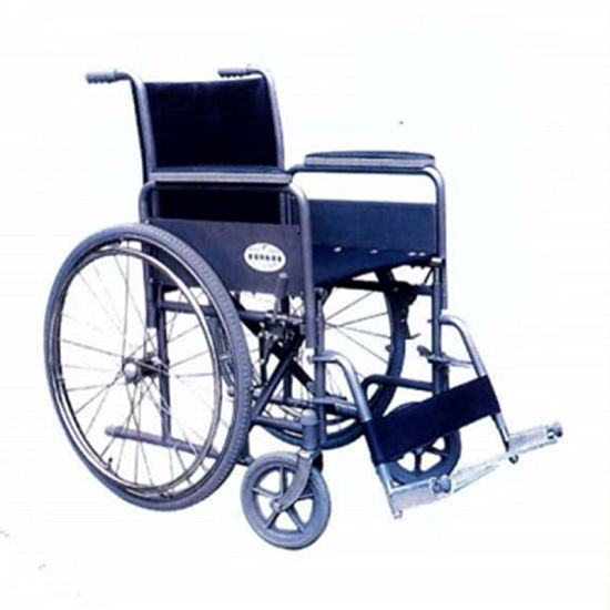 Aluminum New Products Big Wheel Handicapped Folding Electric Power Wheelchair with Disabled