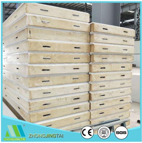 Good Thermal Insulation PU Sandwich Panel 75mm Polyurethane Foam Cold Storage Wall Panels  sc 1 st  Xiamen Zhongjingtai Building Materials Co. Ltd. & China Good Thermal Insulation PU Sandwich Panel 75mm Polyurethane ...
