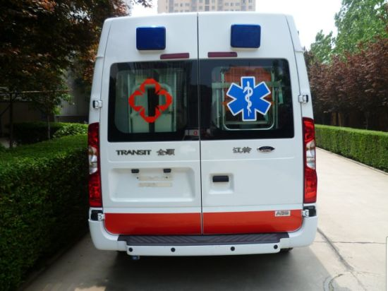 Ford Transit Emergency ICU Ambulance Car/Ambulance for Sale Mslcy5 Medical Equipment