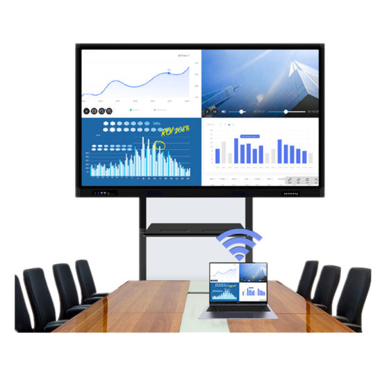 Interactive Flat Screen 16: 9 Widescreen Home Appliance Smart Board