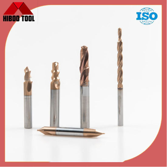 Factory Tungsten Carbide Cutters Drill with Coolant Hole