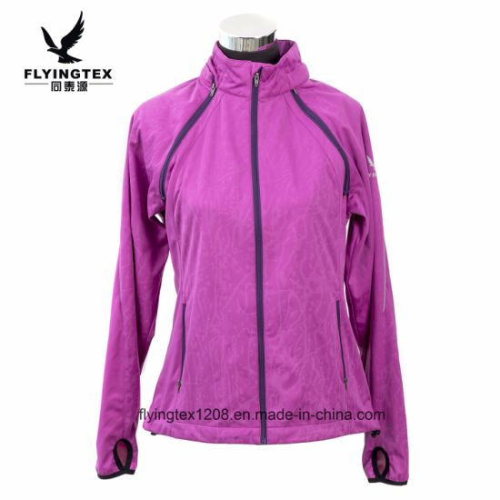 China 2018 New Design Womens Ladies Jacket Outdoor Sports Wear