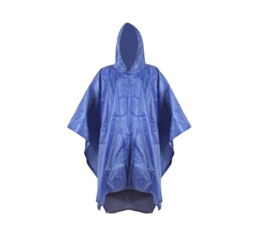 Adult Hiking Rain Poncho Waterproof Clothing Camping