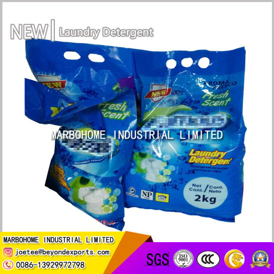 Lemon and Lavender Perfume Laundry Powder, Washing Powder, Powder Detergent, Washing Detergent Powder 2kg