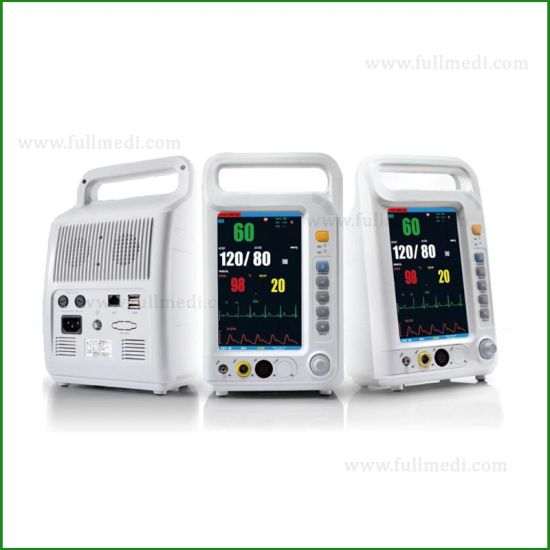 FM-9030t 7'' Color Screen Portable Multi-Parameter Monitor Use in ICU and Operation Room