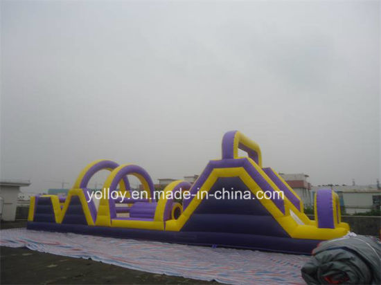 Outdoor Games Inflatable Obstacle Course for Amusement Park pictures & photos
