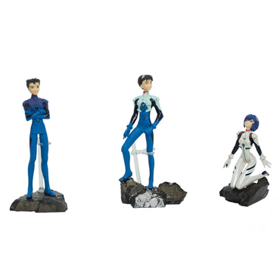 Plastic Anime Toy Figure Set pictures & photos