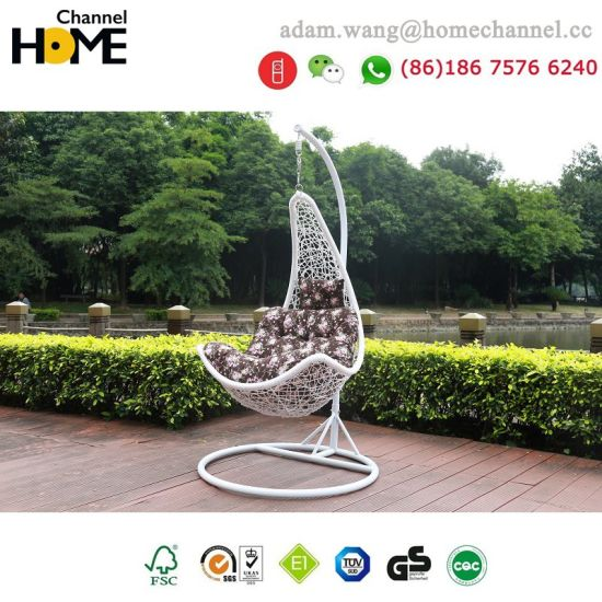 2018 New Design Outdoor Modern Garden Swing Chair 6066