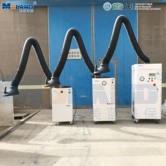 Moland Fume Extractor/Gas Purification Dust Collection for Laser/Welding/Soldering
