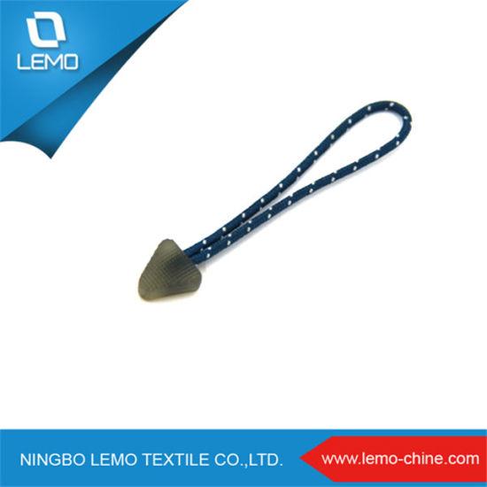 PVC/ Silicone/ Plastic / Rubber Zipper Puller Cord
