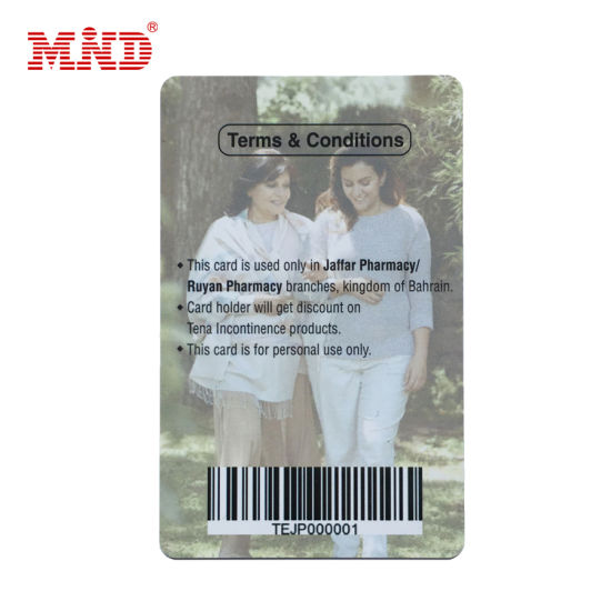 China Factory Outlet Plastic Barcode Gift Card Cheap Price