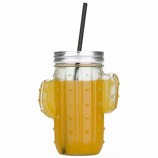 Free Sample 16oz Mason Jar Fruit Juice Mason Cup/Drinking Glass pictures & photos