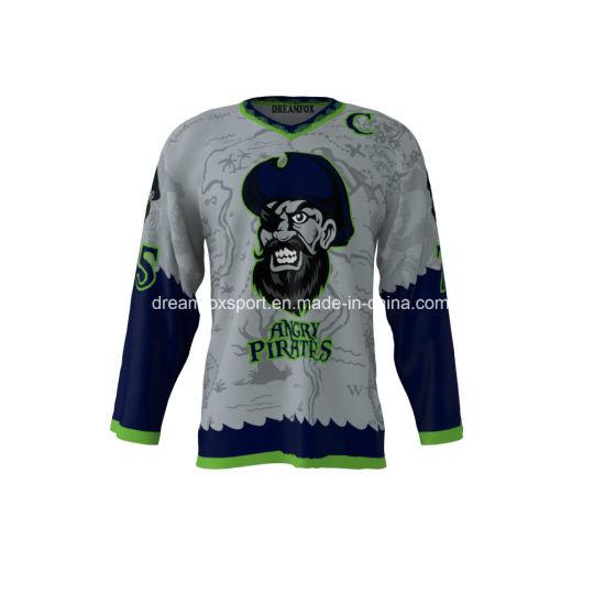 Customized Logo Sportswear Sublimation Ice Hockey Jerseys Custom Hockey  Jersey for Men d0e57b1abad