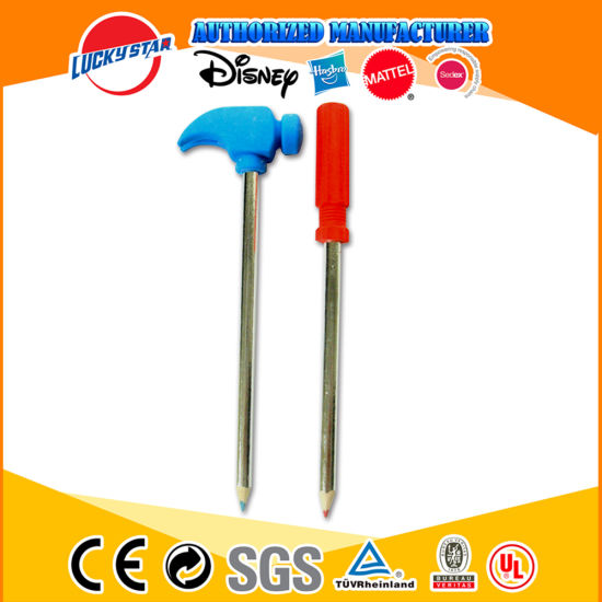 Stationery Tools Set Creative Pencil with Hammer Head and Screwdriver