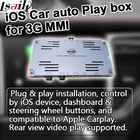 China Apple Carplay Box for Audi 3G Mmi A4 A6 Q7 etc - China