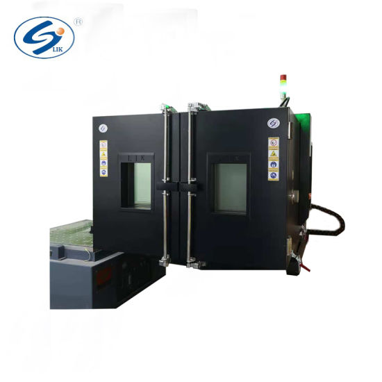 Vibration Testing Machine Combined Temperature Chamber with Vibration Shaker Table